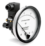 Ashcroft Differential Pressure Gauges - Model 1134