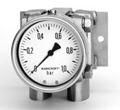 Ashcroft Type 5503 Differential Pressure Gauge