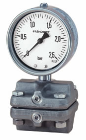 Ashcroft Type 5509 Differential Pressure Gauge